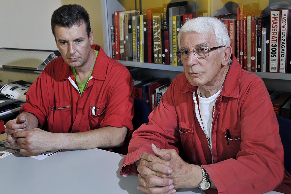 Autofficina Omega, la clinica per le auto sportive storiche di tutto il mondo