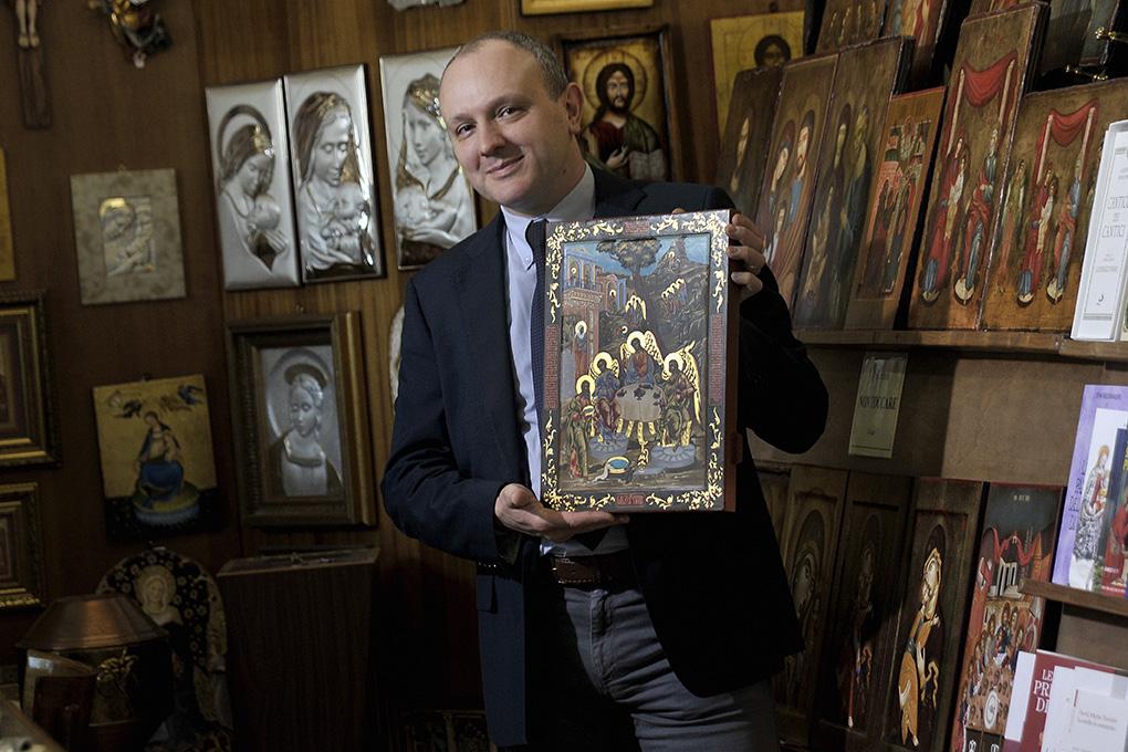 Il segreto di Pier-Luigi Marchetti: guidare il cliente a scoprire il significato dell'Arte Sacra