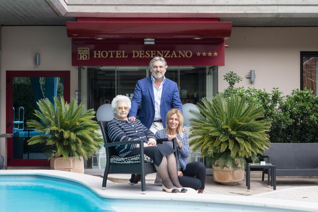 Hotel Desenzano, dal manager al cicloturista l'accoglienza è di casa