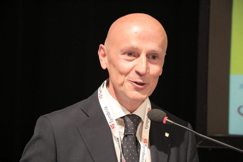 """Seminario Symbola a Treia, Gianluca Pesarini, Confindustria Macerata: """"Ricostruzione nel nome della digitalizzazione 4.0""""."""