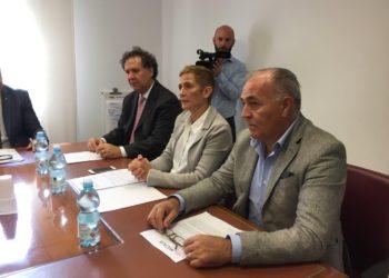 Valentino Orlandi, Selina Ferretti, Claudio Scocco