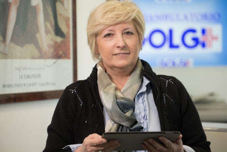 Tiziana Bettenzana al poliambulatorio