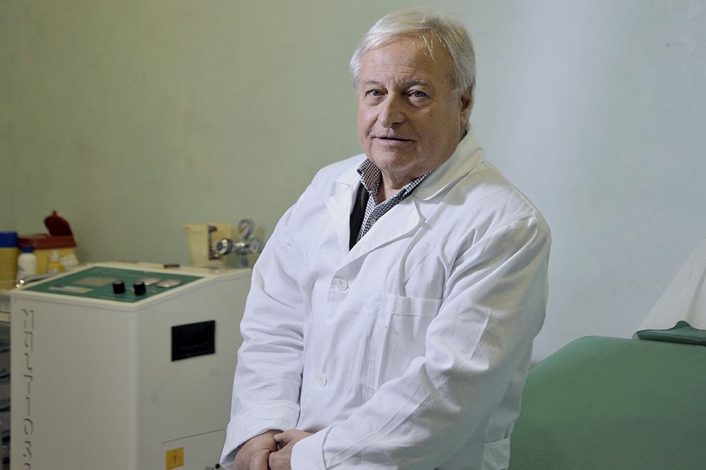 """Mario Petracca """"Crioterapia selettiva, meno rischi e più risultati per il paziente affetto da emorroidi"""""""
