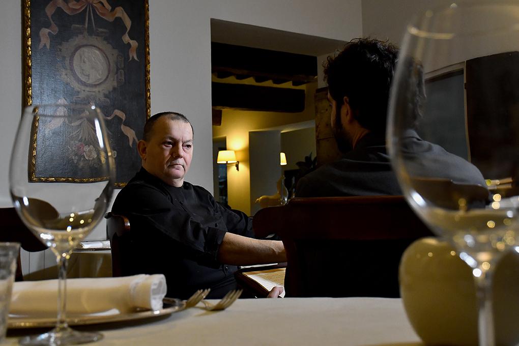 Il ristorante Stella D'Oro, dello chef Marco Dallabona, illumina il borgo di Soragna