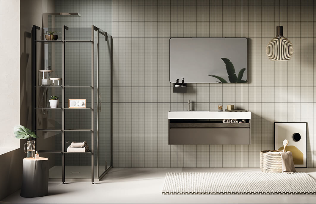 Concept di lifestyle unico e integrato per il bagno firmato Artesi, Ardeco e Agha.