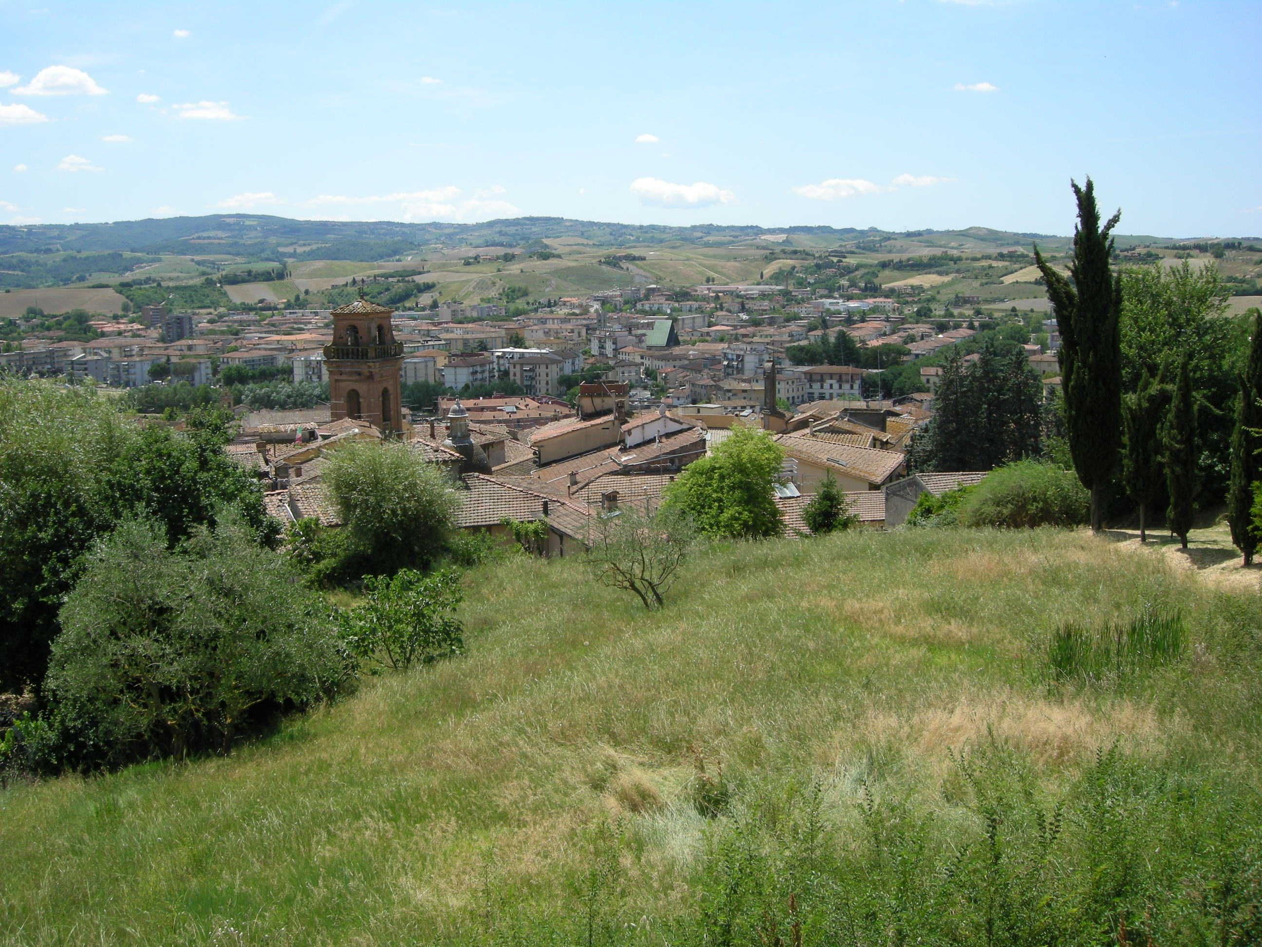 Castelfiorentino veduta