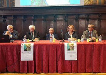 da sx, Cesare Fiore, Umberto Senin, Mario Bellucci, Nives Maria Tei, Luca Delogu