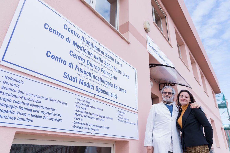 Al Centro Medico Santa Lucia di Assemini aperta la struttura diurna per disabili gravi Paracelso