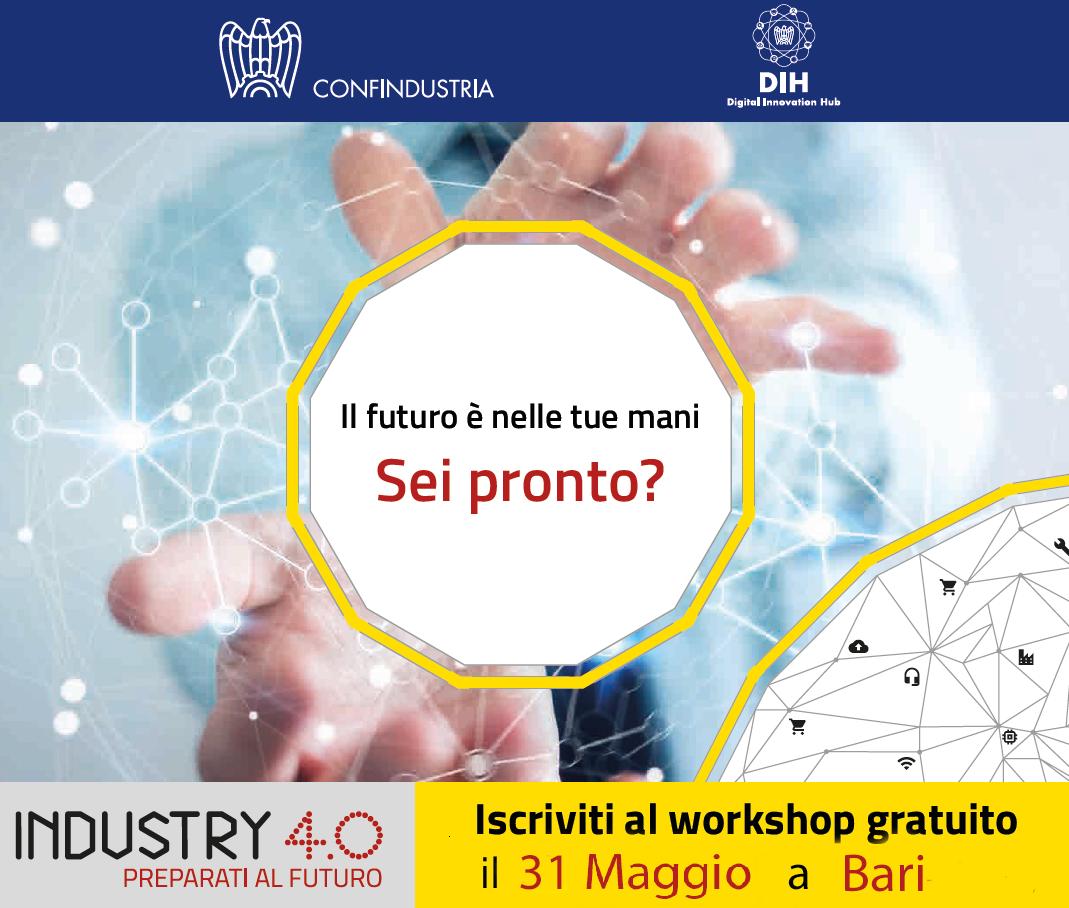 Industry 4.0, Confindustria: prossima tappa a Bari il 31 maggio