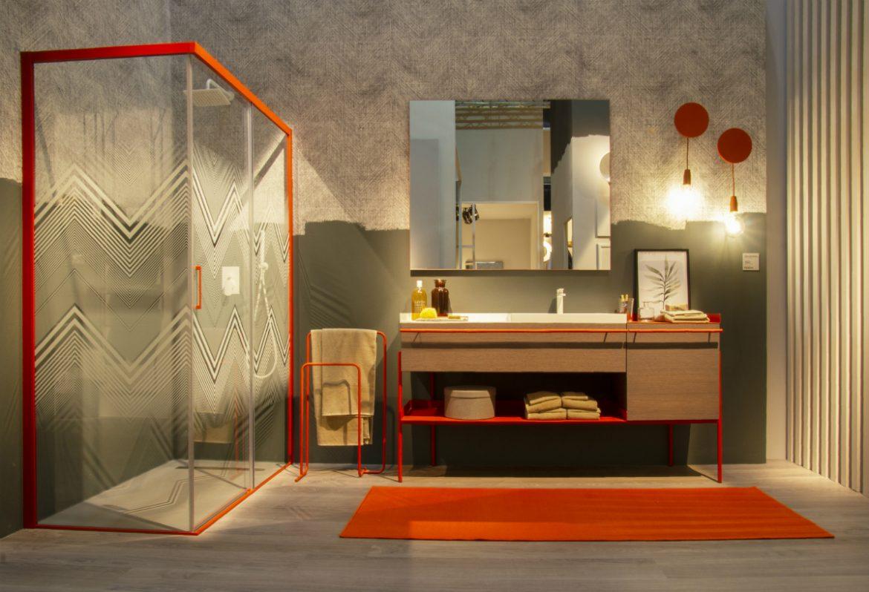 L\'arredo bagno integrato è protagonista della casa e porta la firma ...