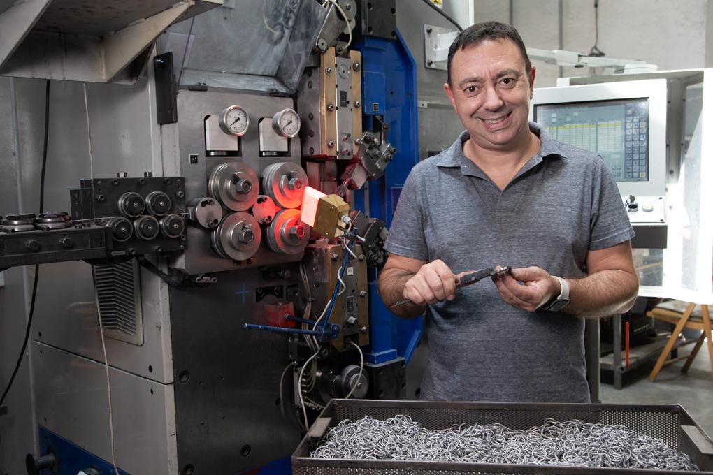 Mollificio Scassa, da 50 anni gli artigiani delle molle