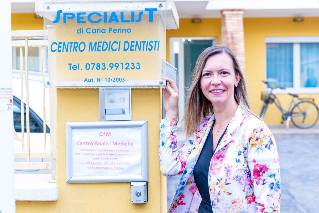 Al Centro Specialist di Mogoro in provincia di Oristano, diretto da Carla Perino, la cura dei denti è affidata ad un team di specialisti del mondo odontoiatrico
