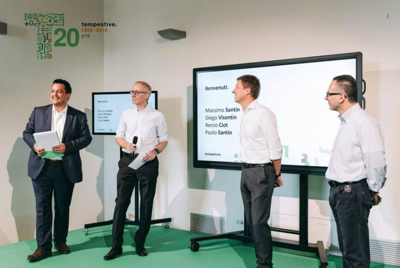 Tempestive srl, 20 anni a supporto dell'innovazione digitale per imprese e istituzioni