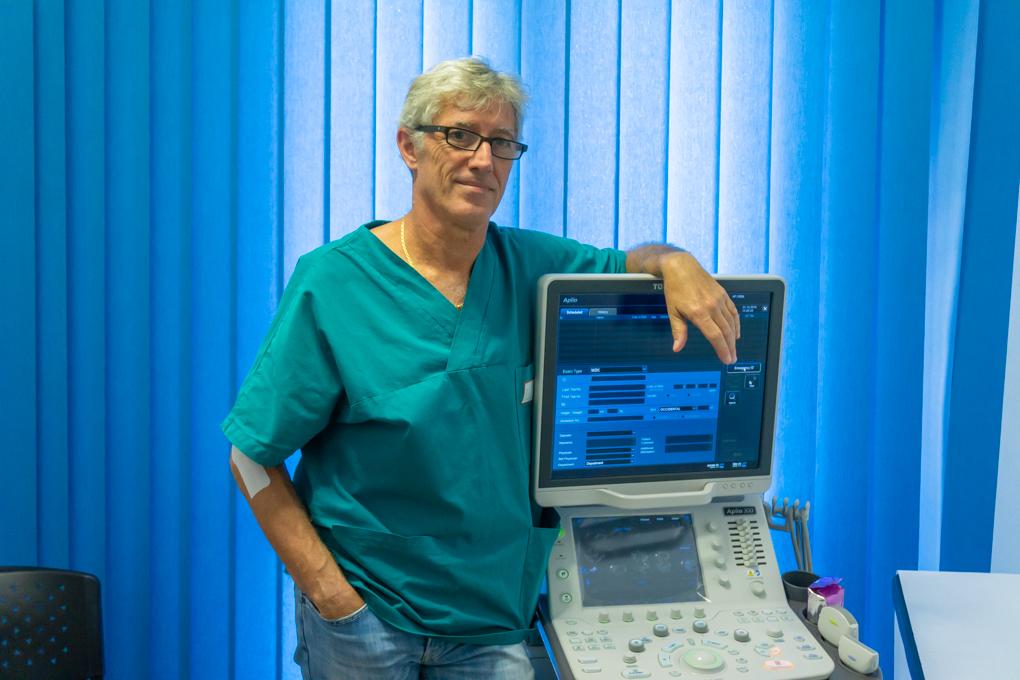 Lido Pinna, radiologo di Oristano: una strumentazione moderna per gli accertamenti in caso di problematiche muscolo-tendinee, esami del collo, delle ghiandole mammarie e degli organi addominali
