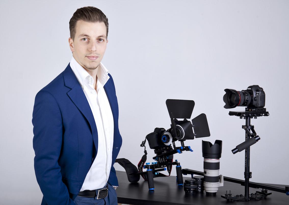 Alessio Zaccariello, il videomaker a Roma che trasforma una storia d'impresa in un cortometraggio