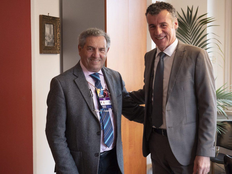 Giorgio Scarso e Sauro Pellerucci
