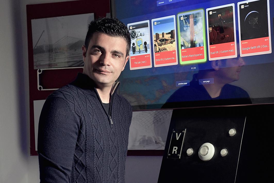 Marco Amaranto porta la realtà virtuale in piazza