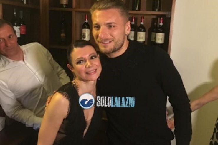 Ciro Immobile e Serena Grigioni
