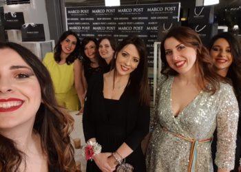 Francesca Provenzano con le sue collaboratrici