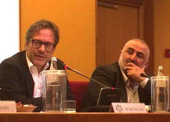 Sergio Antonio Bolognese e Massimo Recalcati - Roma 15 Giugno 2018- Seminario presentazione piani formativi AverCura1 ed AverCura2 (1)