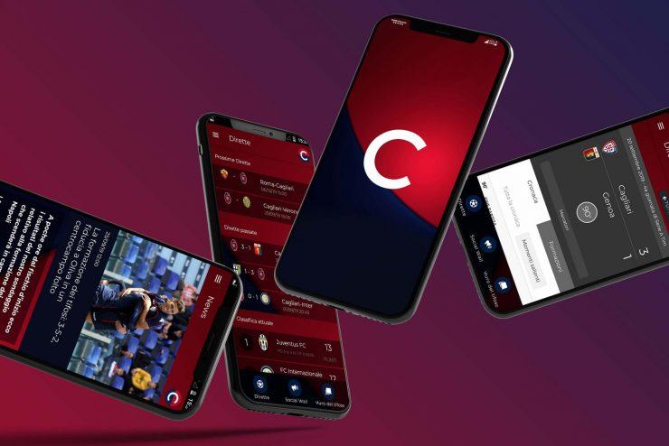 App Calcio Casteddu 4phone