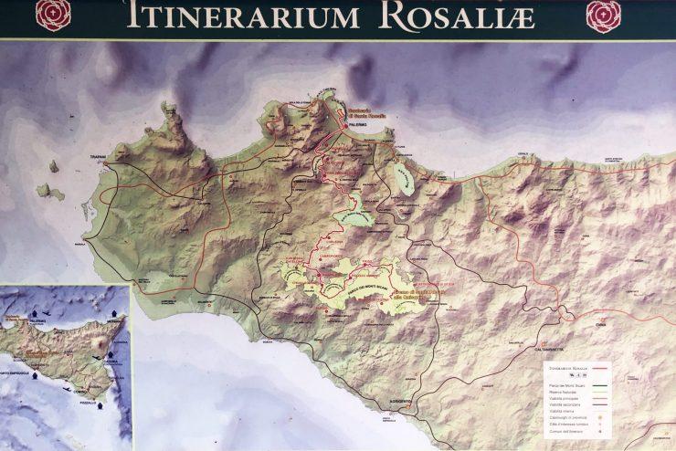 itinerario rosalia