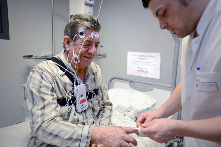 Materassi Marion utilizzati in ospedale nello studio contro i disturbi del sonno