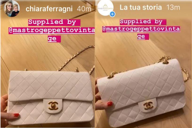 Moda 2020, la borsa Chanel bianca di Mastrogeppettovintage ...