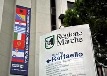 ANCONA, 14 OTT - Vertice Italia Serbia a Palazzo Raffaello, sede della Regione Marche.