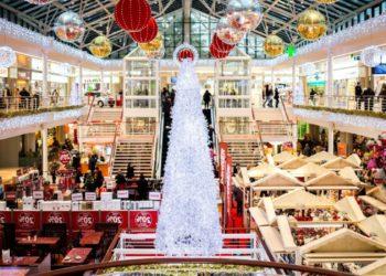 white, christmas, tree, glass