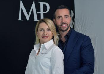 Marco Postiglione e Cristina Bortolussi