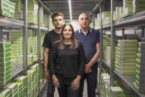 Giorgio Cusimano, direttore commerciale; Michela Garbato, Amministratore Unico, Francesco Cusimano, procuratore